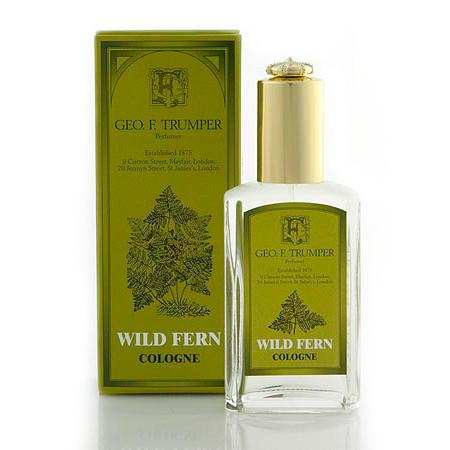 Geo. F. Trumper Wild Fern Cologne 50ml with Atomiser - Fendrihan