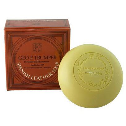 Geo. F. Trumper Spanish Leather Bath Soap Body Soap Geo F. Trumper