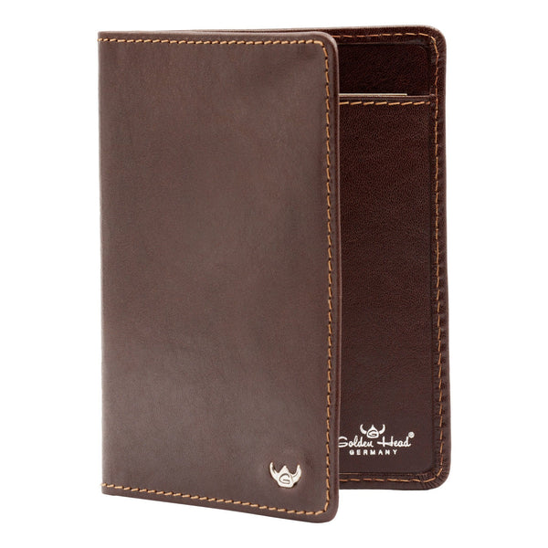 Golden Head Colorado Eco-Tanned 3 CC Leather ID Wallet - Fendrihan - 6