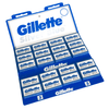 100 Gillette Silver Blue Double-Edge Blades - Fendrihan