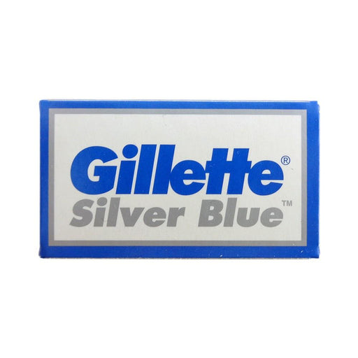 10 Gillette Silver Blue Double-Edge Blades - Fendrihan