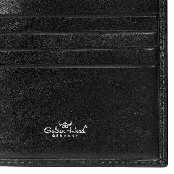 Golden Head Colorado Eco-Tanned Italian Leather Billfold with 8 Credit Card Slots - Fendrihan - 3
