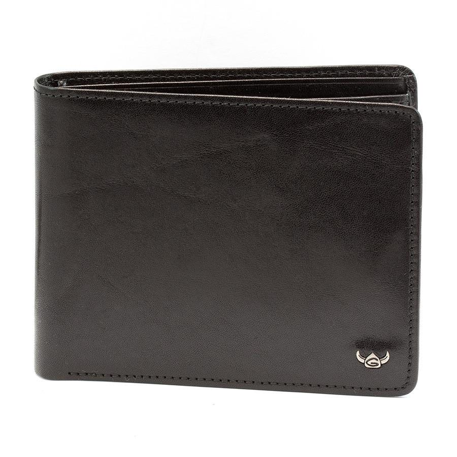 Golden Head Colorado Billfold Leather Wallet with Coin Purse and 8 CC Slots Leather Wallet Golden Head