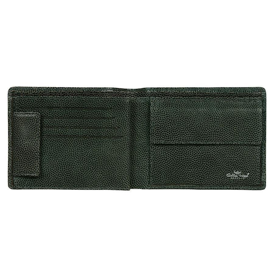 Golden Head Livorno Limited Edition 8 CC Leather Wallet with Coin Pocket Leather Wallet Golden Head Grey
