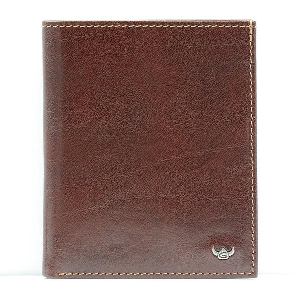 Golden Head Colorado Leather Billfold with 10 Credit Card Slots, Tobacco - Fendrihan - 5