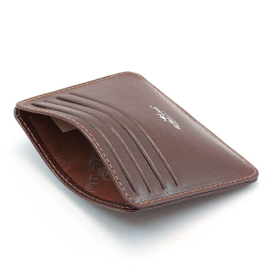 Golden Head Colorado Eco-Tanned Italian Leather 8-Pocket Credit Card Case - Fendrihan - 3