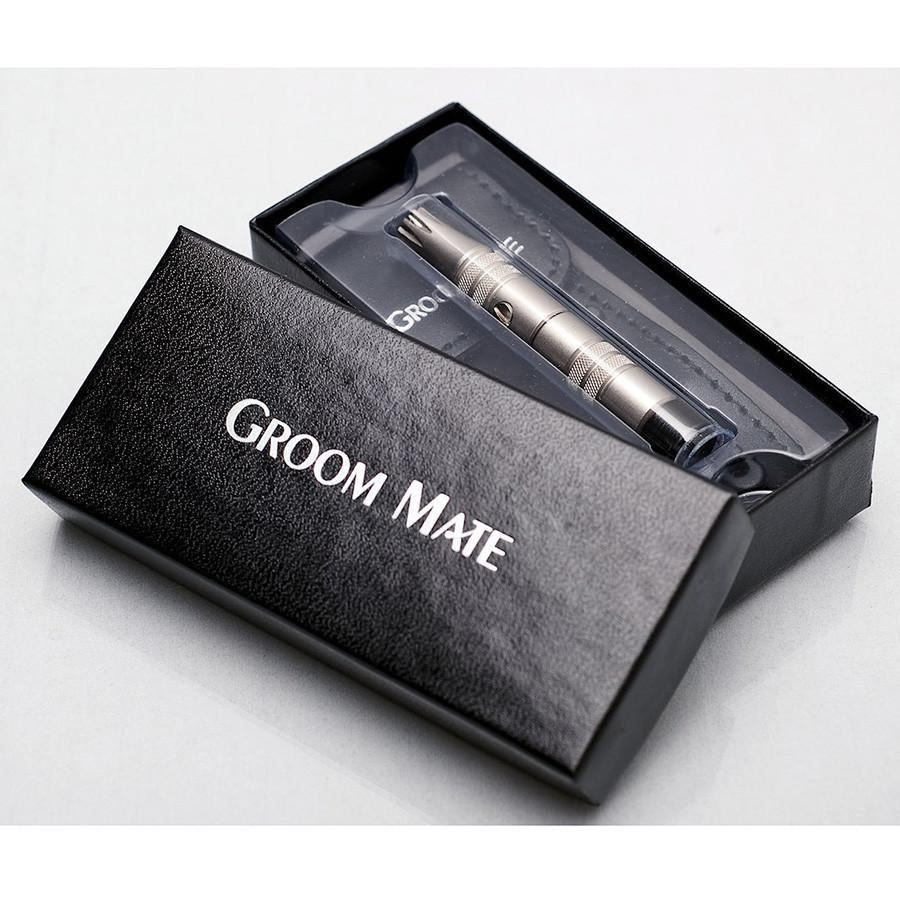 Groom Mate Platinum XL Plus Nose Hair Trimmer Nose Hair Trimmer Groom Mate