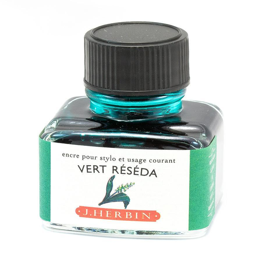 J. Herbin Fountain Pen Ink Bottles Ink & Refill J. Herbin Reseda Green