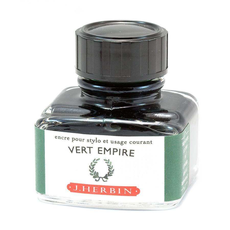 J. Herbin Fountain Pen Ink Bottles Ink & Refill J. Herbin Empire Green