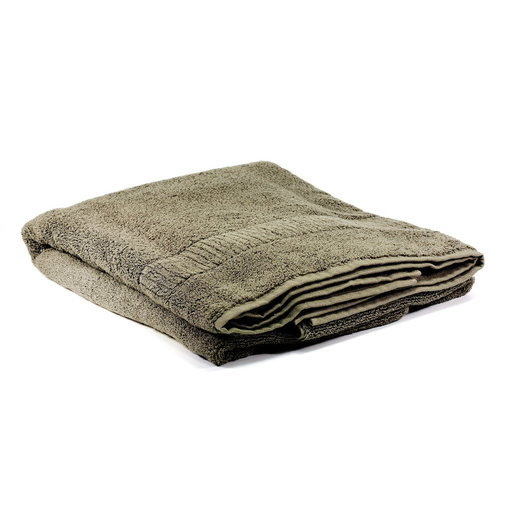 Ikeuchi Organic 330 Cotton Shower Towel, Dark Grey Bath Towel Ikeuchi