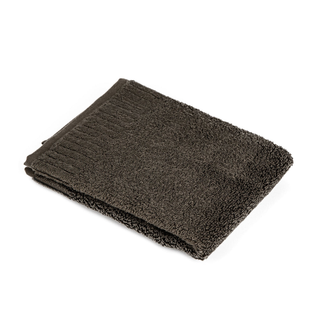 Ikeuchi Organic 732 Cotton Towel Towel Ikeuchi Washcloth (35 x 38 cm) Dark Grey