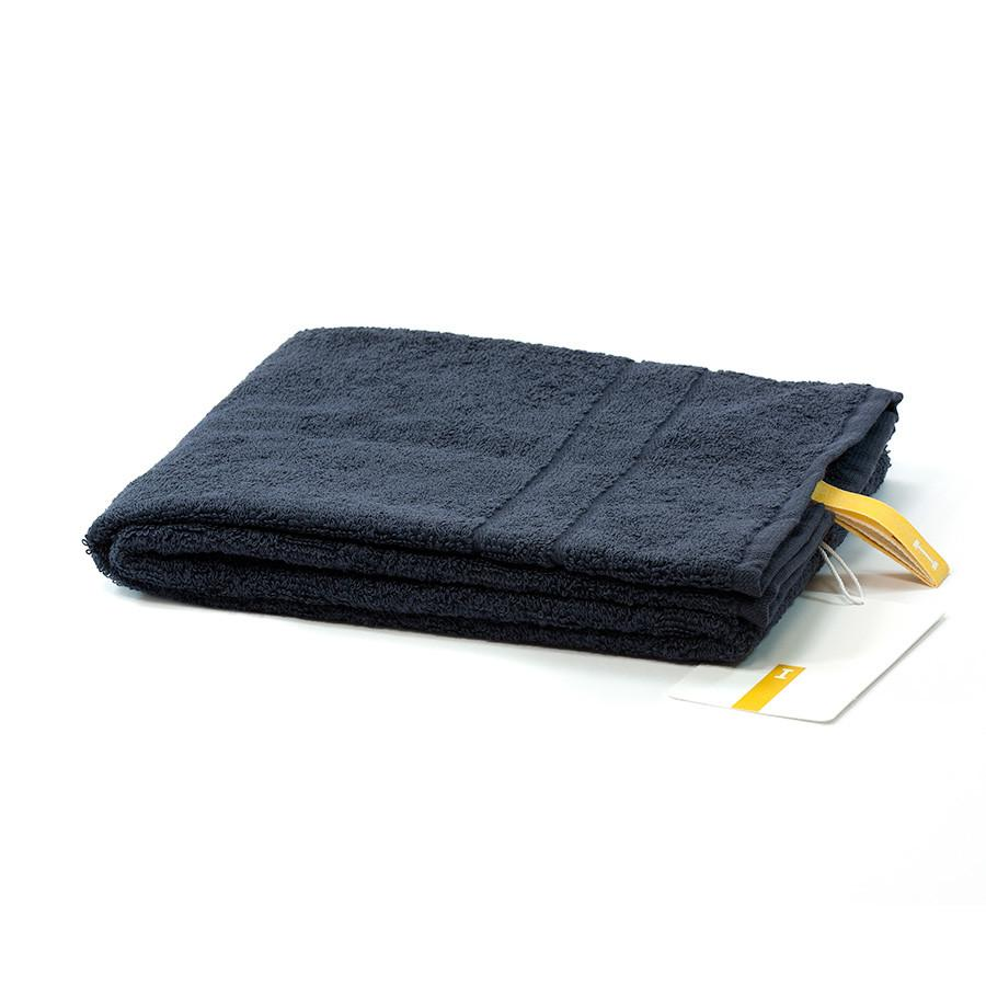 Ikeuchi Organic 120 Cotton Towel, Navy Towel Ikeuchi Face Towel (35 x 80 cm)