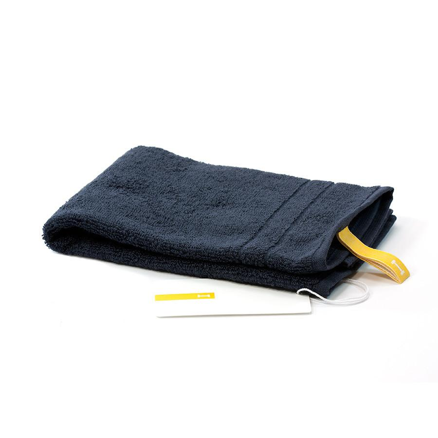 Ikeuchi Organic 120 Cotton Towel, Navy Towel Ikeuchi