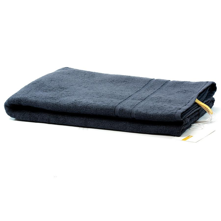 Ikeuchi Organic 120 Cotton Towel, Navy Towel Ikeuchi Bath Towel (72 x 145 cm)