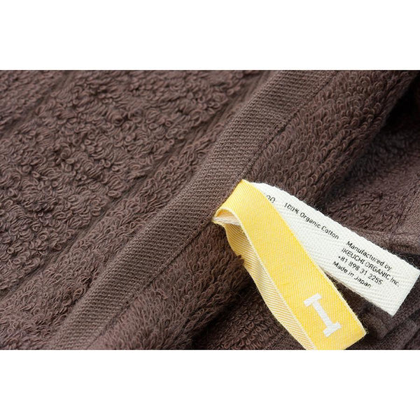 Ikeuchi Organic 316 Cotton Towel, Dark Brown - Fendrihan - 3