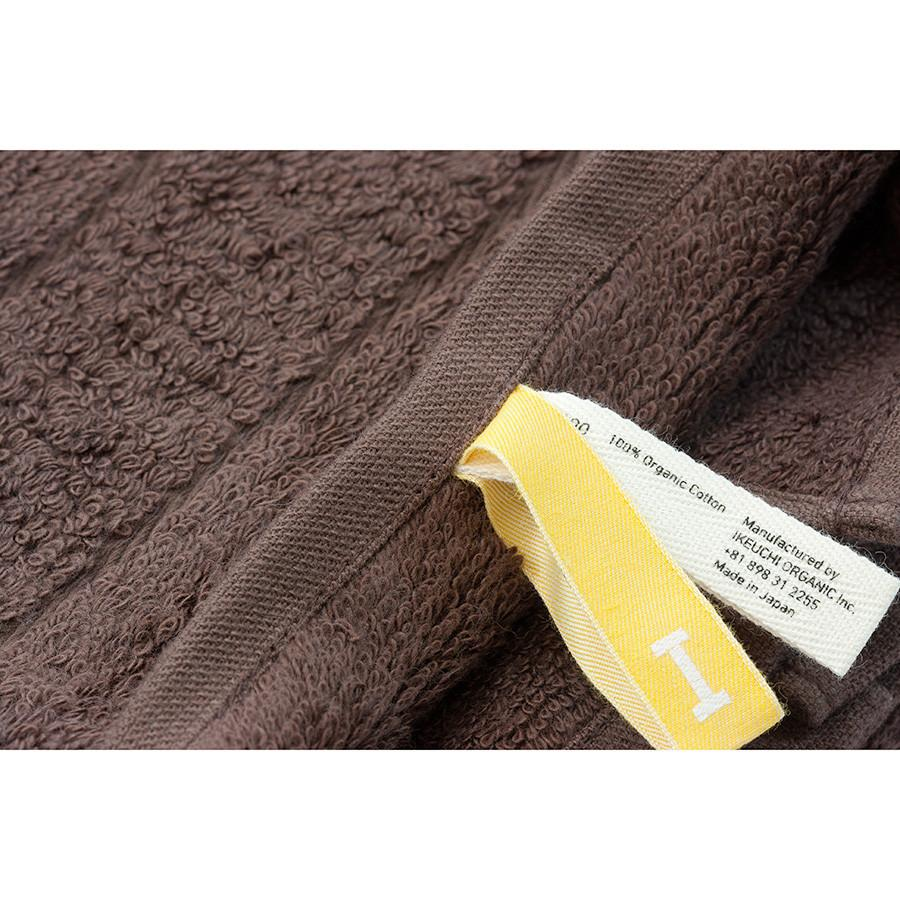 Ikeuchi Organic 316 Cotton Towel, Dark Brown Bath Towel Ikeuchi