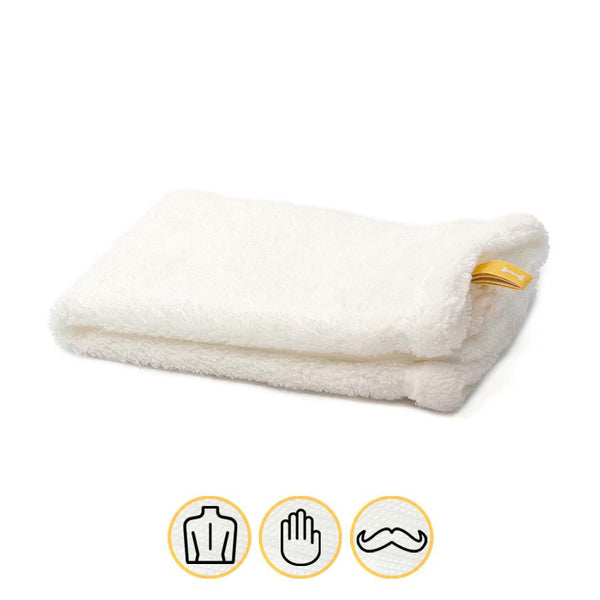Ikeuchi Organic 520 Cotton Towel, White - Fendrihan - 1