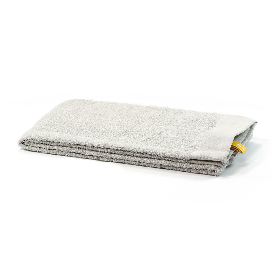 Ikeuchi Organic Air Cotton Towel, Light Grey Towel Ikeuchi Face Towel (35 x 100 cm)