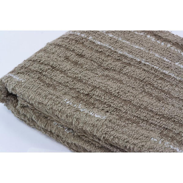 Ikeuchi Stripes II Organic Cotton & Bamboo Towel, Seto Sand - Fendrihan - 4