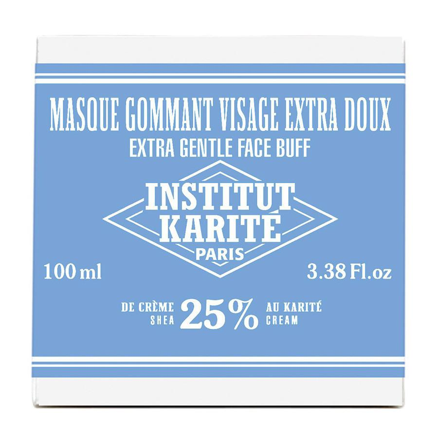 Institut Karite 25% Shea Butter Cream Extra Gentle Exfoliating Face Mask Face Cleansers Masks and Scrubs Institut Karite