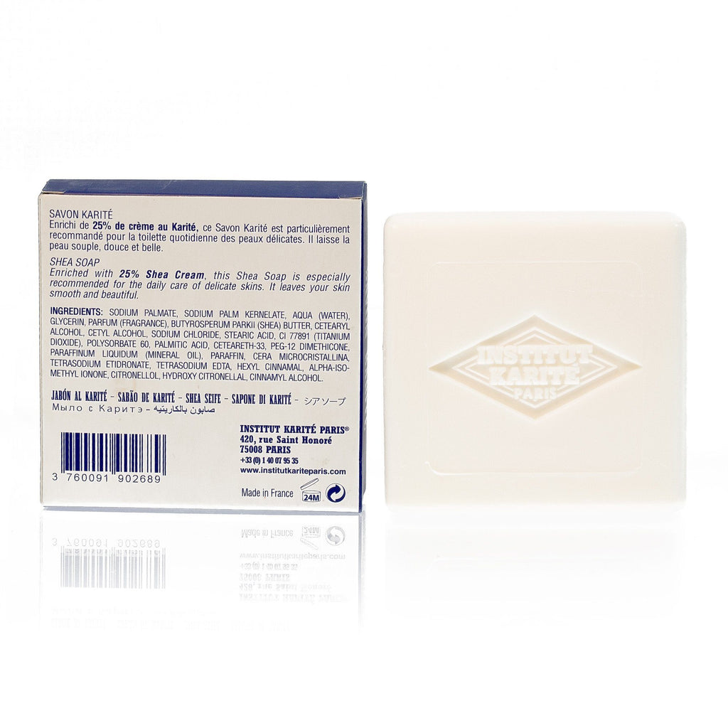 Institut Karite 25% Shea Butter Cream Extra Gentle Soap, Milk Cream Body Soap Institut Karite