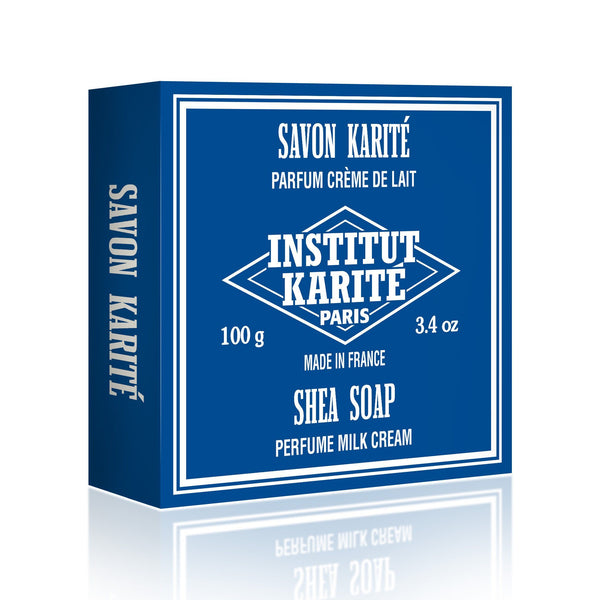 Institut Karite 25% Shea Butter Cream Extra Gentle Soap, Milk Cream - Fendrihan - 1