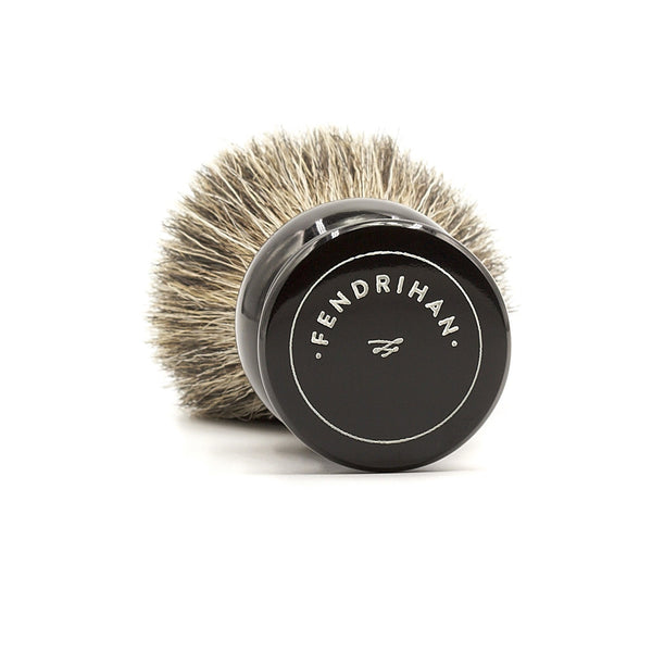 Fendrihan Pure Badger Shaving Brush, Black Handle - Fendrihan - 2