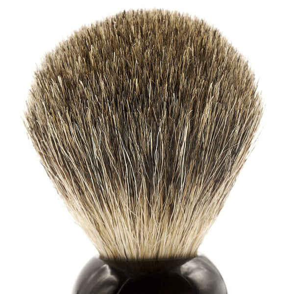 Fendrihan Pure Badger Shaving Brush, Black Handle - Fendrihan - 3