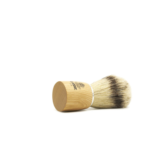 Kent Visage VS70 Pure Bristles with Badger Effect Shaving Brush, Wood Handle - Fendrihan - 2