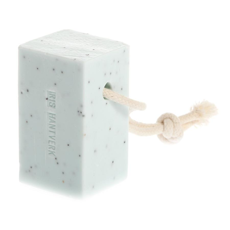 Iris Hantverk Soap on a Rope, Poppy and Spearmint Body Soap Iris Hantverk