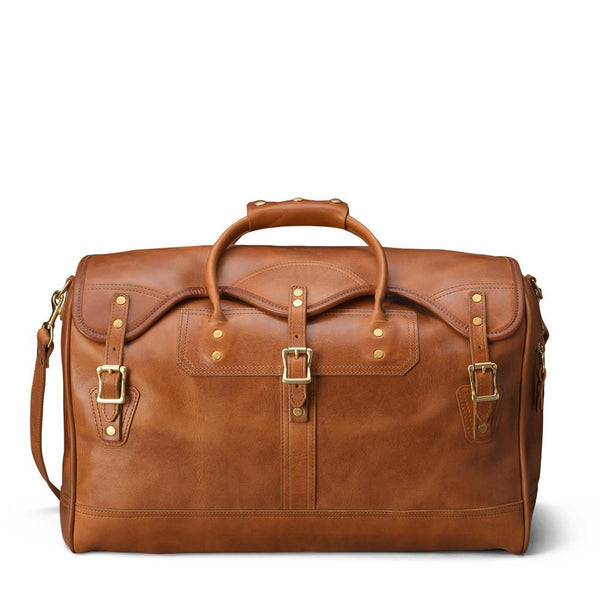 J. W. Hulme Co. Small Classic Duffle Bag, Saddle Heritage Tan Leather