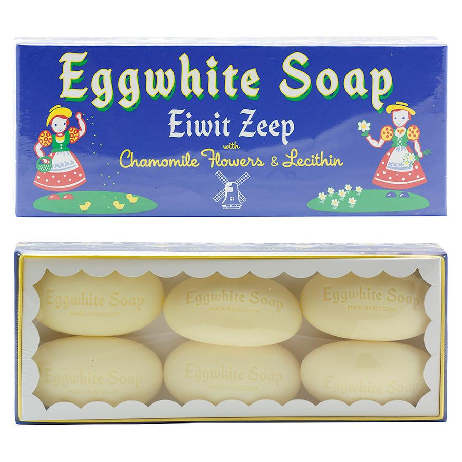 Belgian Eggwhite and Chamomile Soap Bar 6-pack Body Soap Other