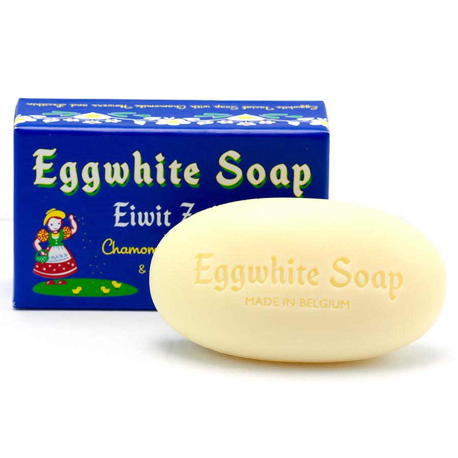 Belgian Eggwhite and Chamomile Soap Bar Body Soap Other