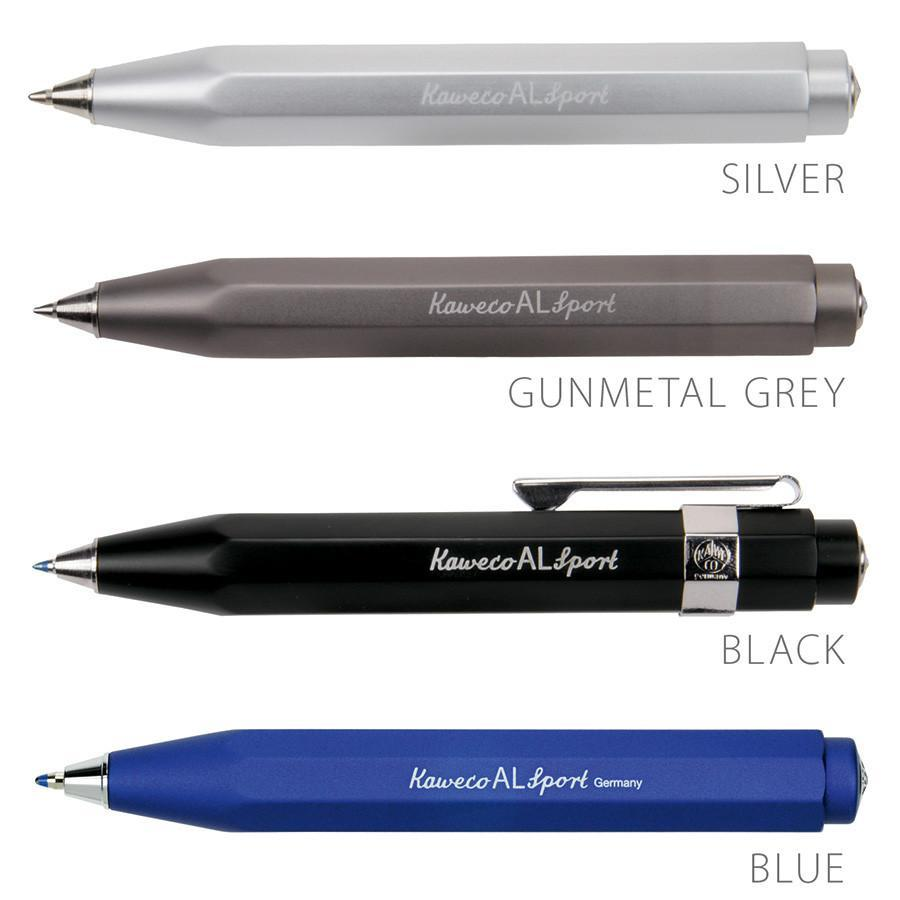 Kaweco AL Sport Aluminum Ballpoint Pen Ball Point Pen Kaweco Blue