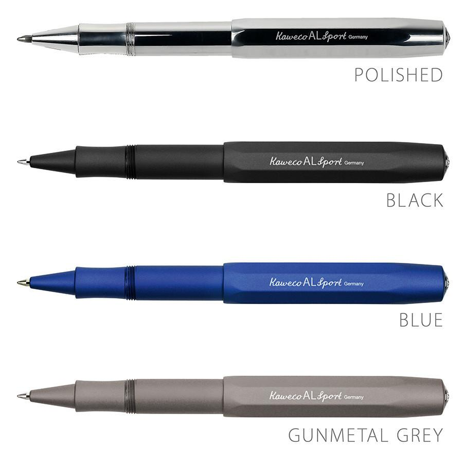 Kaweco AL Sport Aluminum Gel Rollerball Pen Ball Point Pen Kaweco Black
