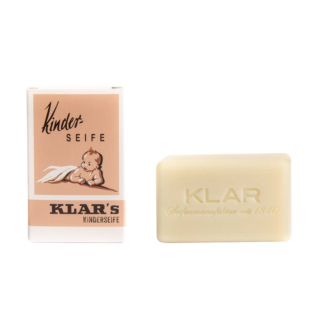 Klar's Soap for Children, Hand Size Body Soap Klar Seifen