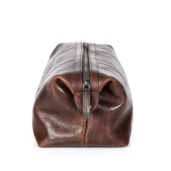 Leonhard Heyden Roma Toiletry Kit, Brown Leather - Fendrihan - 2