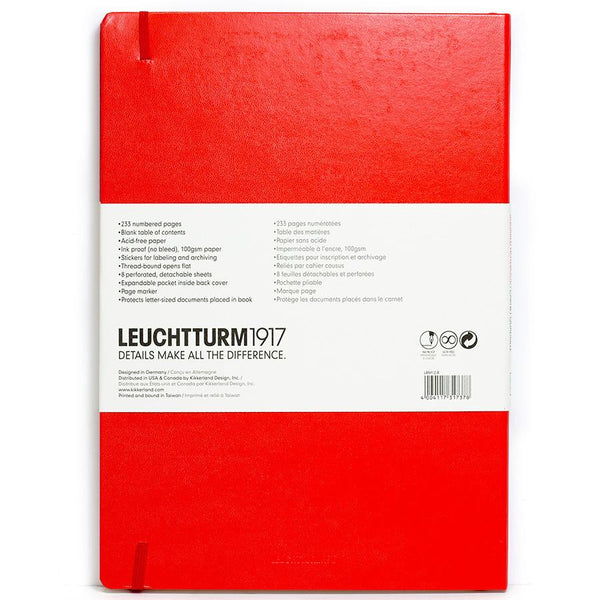 Leuchtturm1917 Master Classic Hard Cover Notebook, Squared - Fendrihan - 5