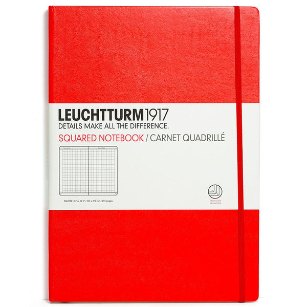 Leuchtturm1917 Master Classic Hard Cover Notebook, Squared - Fendrihan - 4