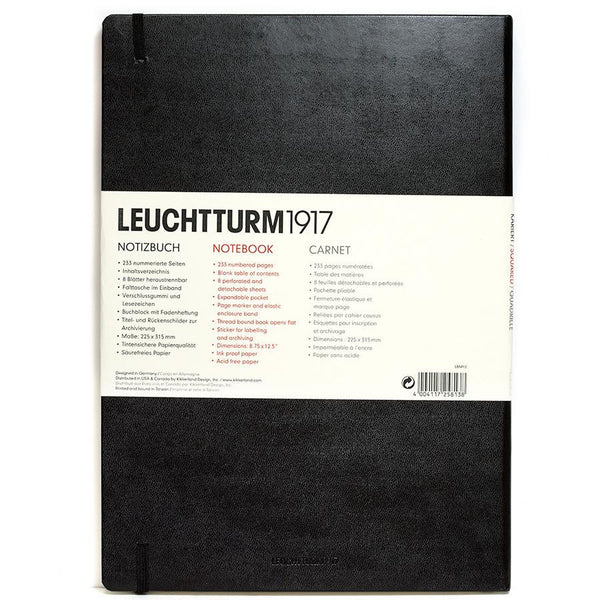 Leuchtturm1917 Master Classic Hard Cover Notebook, Squared - Fendrihan - 3