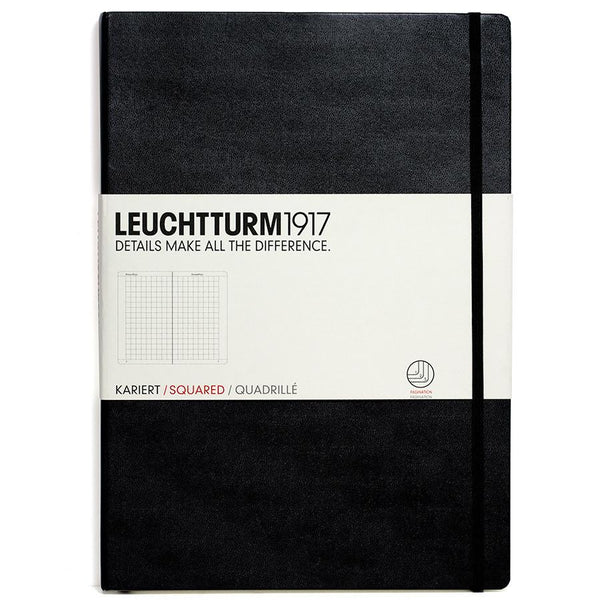 Leuchtturm1917 Master Classic Hard Cover Notebook, Squared - Fendrihan - 2