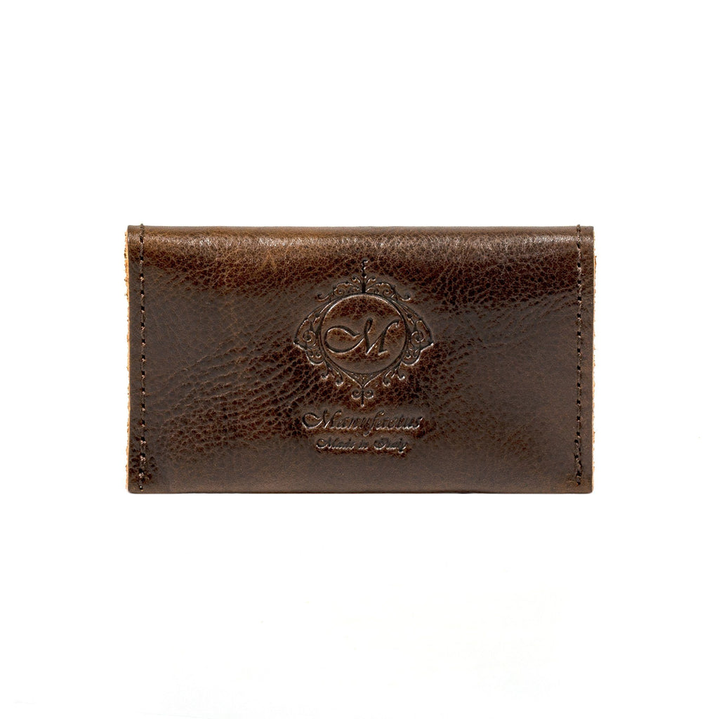 Manufactus Leather Coin Purse Leather Wallet Manufactus by Luca Natalizia