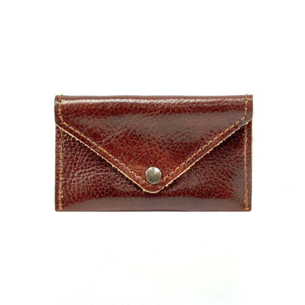 Manufactus Leather Coin Purse Leather Wallet Manufactus by Luca Natalizia Malbec