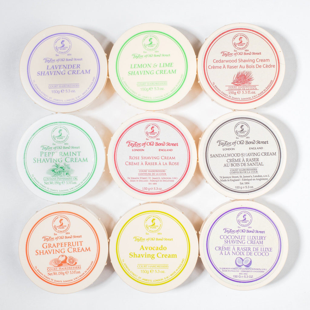 Taylor of Old Bond Street Shaving Cream Bowl, Peppermint Shaving Cream Taylor of Old Bond Street
