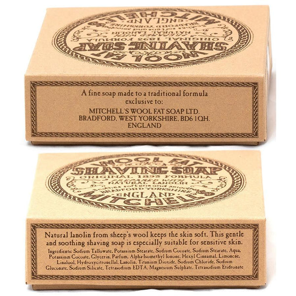 Mitchell's Wool Fat Luxury Shaving Soap Refill - Fendrihan - 2