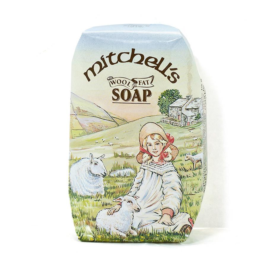 Mitchell's Country Scene Wool Fat Soap, Hand Size Body Soap Mitchell's Wool Fat