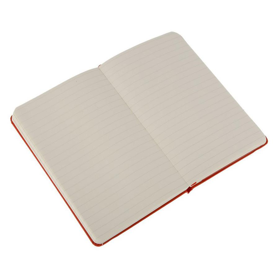 Moleskine 3.5 x 5.5 Hard Cover Pocket Notebook in Red, Lined Notebook Moleskine