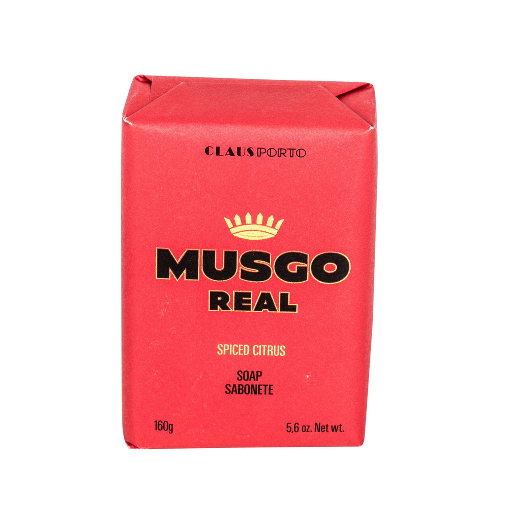 Musgo Real Men's Body Soap, Spiced Citrus Body Soap Musgo Real