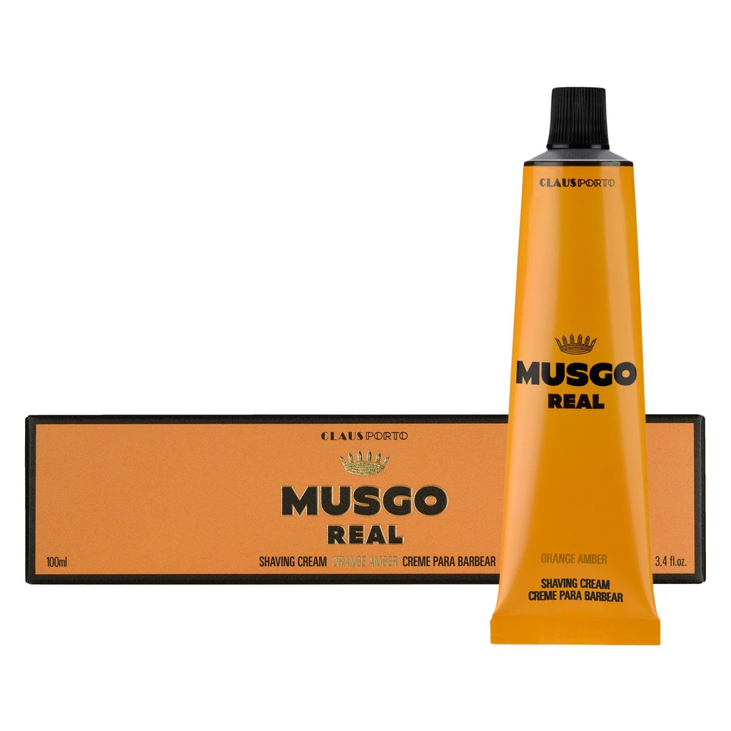 Musgo Real Orange Amber Shaving Cream Shaving Cream Musgo Real