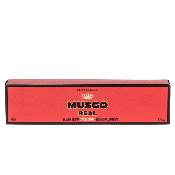 Musgo Real Spiced Citrus Shaving Cream